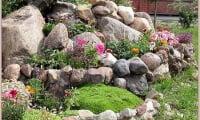использование камней для строительства рокария