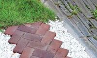 дорожное покрытие из бетонной брусчатки
