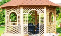 Садовые постройки - места для отдыха и хранения инвентаря