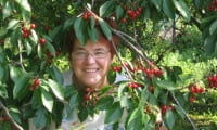 моя мама на даче