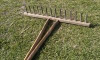 Грабли деревянные